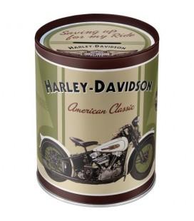 Puszka, pojemnik 3D, Harley Knuckle