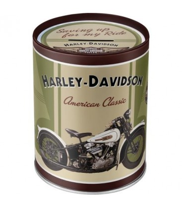 Puszka, pojemnik, Harley Knuckle