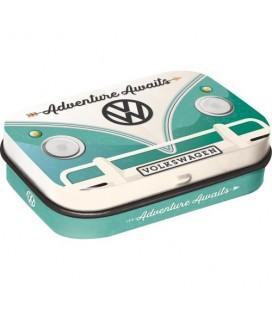 Pojemnik z miętówkami, VW Bulli-Adventure Awaits