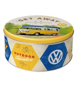 Puszka, pojemnik 3D, VW Bulli - Let's Get Away