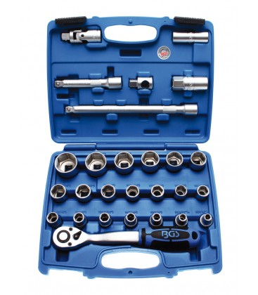 Komplet kluczy calowych 27-el, nk-020