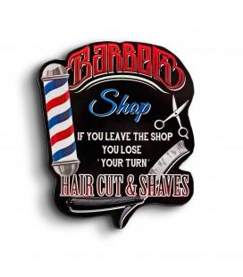 Szyld 38 x 30, Barber Shop, GAD-044