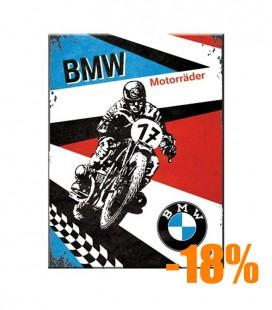 Tabliczka, magnes, BMW Moto
