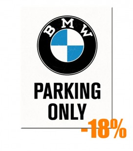 Tabliczka, magnes, BMW PARKING