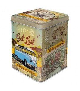 Pojemnik 3D, puszka na herbatę, VW Get's Lost