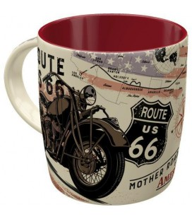 Kubek Route 66 Bike Map