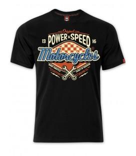T-shirt Motorcycles Black, TSM-036
