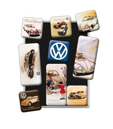 Magnesy, zestaw, VW Garbus Retro