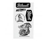 Naklejki komplet Biltwell