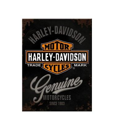 Tabliczka, magnes, Harley Genuine