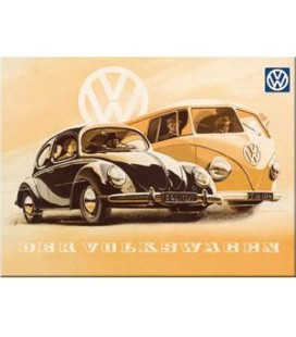 Tabliczka, magnes, VW Garbus
