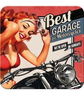 Metalowa podkładka, Best Garage Red