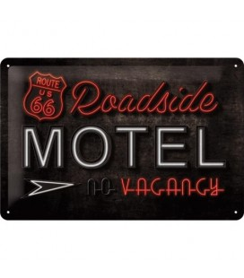 Szyld, tablica, Harley Biker Babe