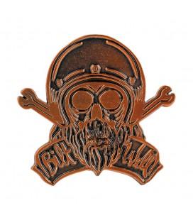 Przypinka Biltwell Bonanza Skull, AK-560