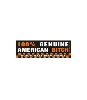 Naklejka 100% American