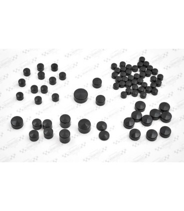 Nakładki na śruby, zestaw, ND-034