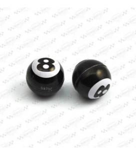 Nakrętki na wentyle, 8 ball, AK-037