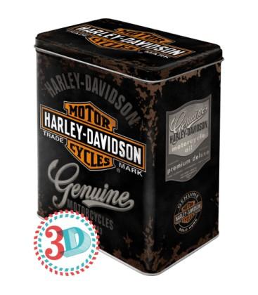 Pojemnik 3D, puszka, Harley Genuine
