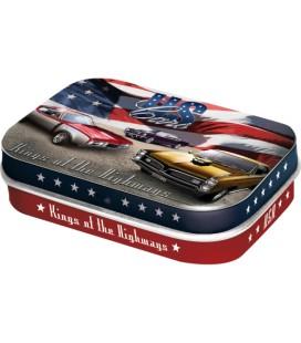 Pojemnik z miętówkami US Cars