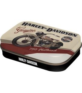 Pojemnik z miętówkami, Harley Flathead