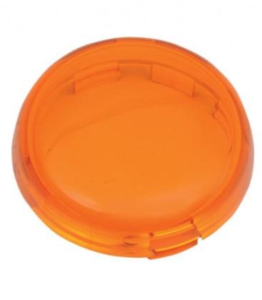 Pomarańczowe szkło kierunkowskazu