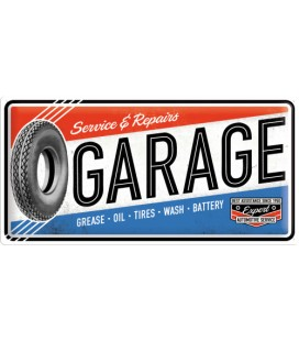 Szyld, tablica, Garage