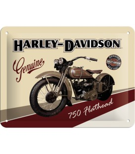 Szyld, tablica, Harley Flathead 2