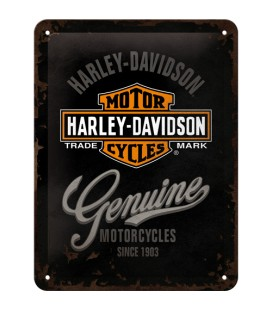Szyld, tablica, Harley Genuine 2