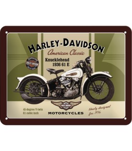 Szyld, tablica, Harley Knucklehead 2