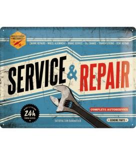 Szyld, tablica, Service and Repair