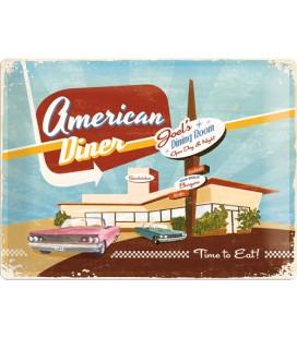 Szyld 30x40 US Diner