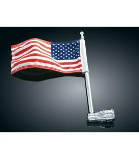 Uchwyt+flaga USA Kuryakyn, AK-033