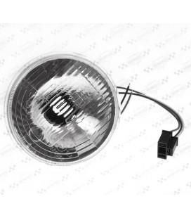 Wkład lampy 5 3/4 cala, ryfowane szkło, OS-123