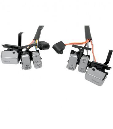 Przełączniki, przyciski chrom, EU-122